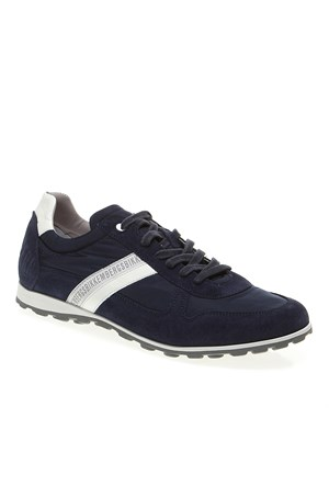 Bikkembergs Rascal 832 L.Shoe M Fabric/Suede Bke106594 Erkek Ayakkabı Suede Blue