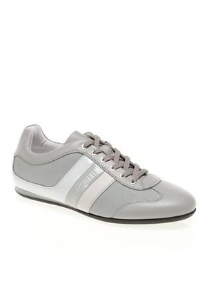 Bikkembergs Springer 12 L.Shoe M.Leather/Fabric Bke106574 Erkek Ayakkabı Grey