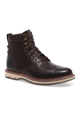 Timberland Wing Boot Wp 5445A Erkek Bot Dark Brown Smooth