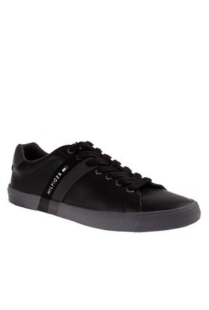 Tommy Hilfiger Fm56819867 Erkek Ayakkabı Siyah