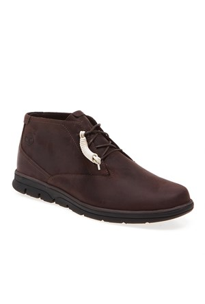 Timberland Plain Toe Chukka 5422A Erkek Bot Dark Brown Oıled