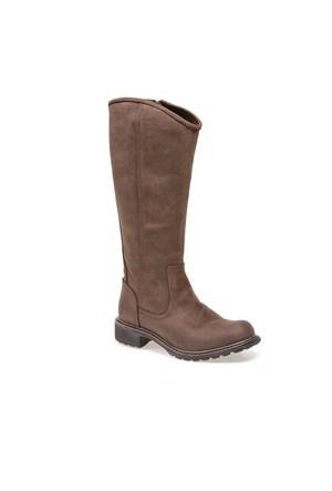 Timberlandek Stoddard Tall Wp Boot 8601A Kadın Dk Brown Çizme