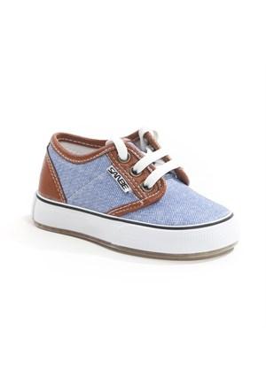 Sanbe Erkek Çocuk Keten Ayakkabı - 401 H 3701 Kot Rengi