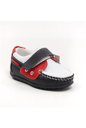 Sanbe Erkek Çocuk Günlük Ayakkabı - 150 H 1201 Lacivert-Beyaz
