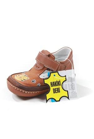 Sanbe Erkek Çocuk Hakiki Deri İlk Adım Ayakkabısı - 306 H 2104