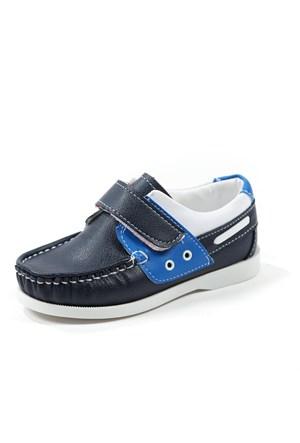 Sanbe Erkek Çocuk Günlük Ayakkabı - 151 H 1201 Lacivet-Mavi