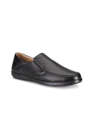 Flogart Sg-68 M 1494 Siyah Erkek Deri Ayakkabı