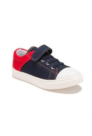 Yellow Kids Docky Lacivert Kırmızı Erkek Çocuk Ayakkabı