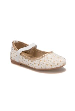 Pink Step A3336172 Beyaz Kız Çocuk Babet