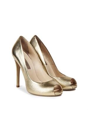 Desa Collection Eva Kadın Abiye Ayakkabı Altın