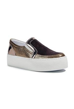 Desa Ann Kadın Günlük Ayakkabı Bronz