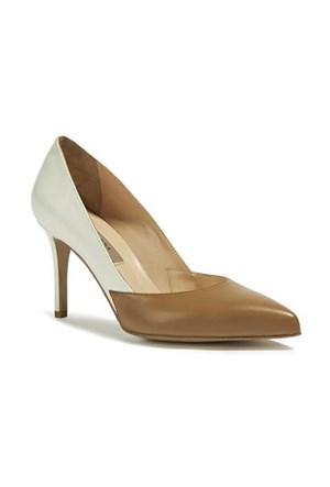 Desa Collection Desire Kadın Klasik Ayakkabı Taba Beyaz