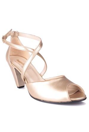 Loggalin 375325 031 621 Kadın Gold Günlük Ayakkabı