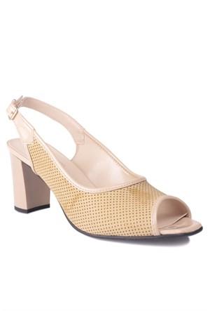 Loggalin 375253 031 322 Kadın Bej Günlük Ayakkabı