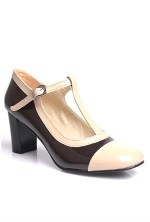 Loggalin 375502 031 221 Kadın Siyah Vizon Günlük Ayakkabı