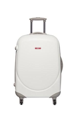 Ççs Kumaş Valiz Ççs5105-M Beyaz