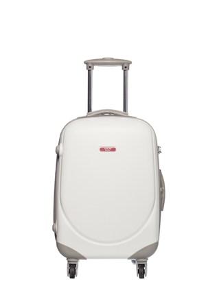 Ççs Kumaş Valiz Ççs5105-S Beyaz