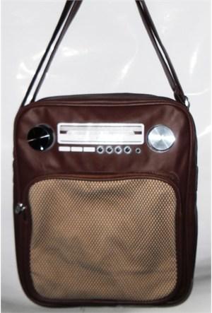 Köstebek Dikey Radyo Çanta Taba