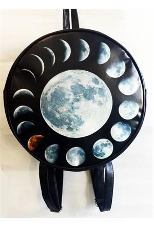 Köstebek Moon Phases Sırt Çantası
