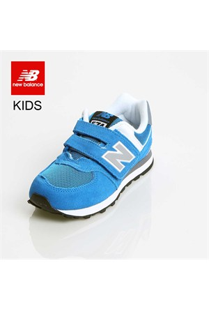 New Balance Kv574p2y Kids Pre-School Blue Grey Ayakkabı