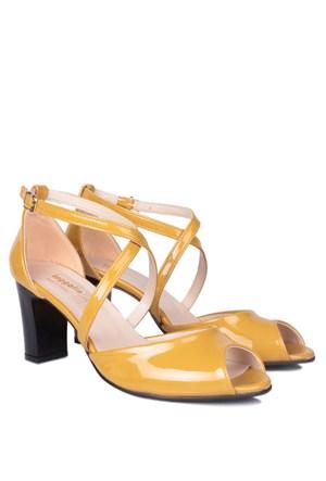 Loggalin 375324 031 129 Kadın Sarı Günlük Ayakkabı