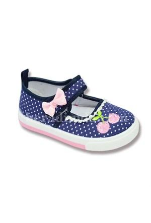 Sanbe Kız Çocuk Ayakkabısı Lacivert - 401F011