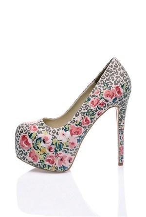 Los Ojo Roseleo Topuklu Ayakkabı