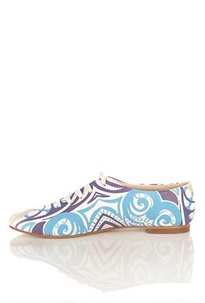 Los Ojo Srdr 023 Casual Bağcıklı Kadın Ayakkabı