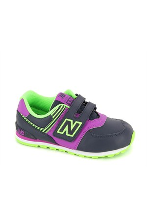 New Balance Gri Kg574phı Nb Kids Infant, Purple/Blue, W, 17 Ayakkabı