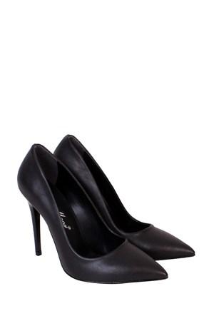 Mina Moor Ayakkabı Siyah Klasik Kadın Ayakkabı - 1770