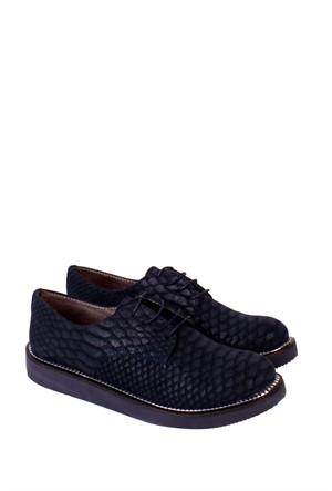 Marco Bellini Lacivert Günlük Kadın Ayakkabı - 826