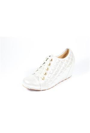 Capriss 700 Gümüş Kadın Ayakkabı