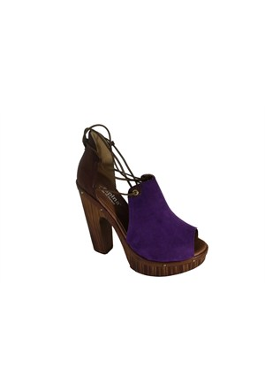 Despina Vandi 46-1 Günlük Topuklu Kadın Sandalet