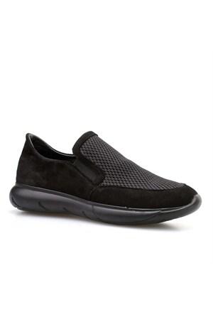 Cabani Bez Kadın Ayakkabı Siyah Süet