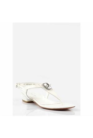 Pedro Camino Kadın Günlük Sandalet 80141 Beyaz
