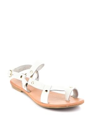 Gio&Mi Beyaz Sandalet Ar110