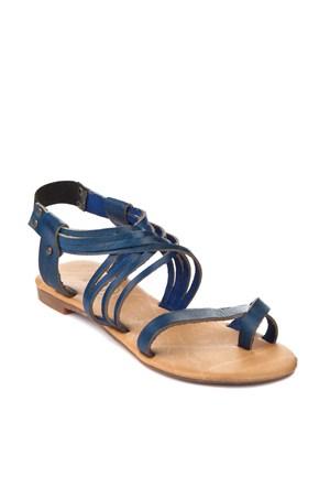 Gio&Mi Lacivert Sandalet Tg-Cpr
