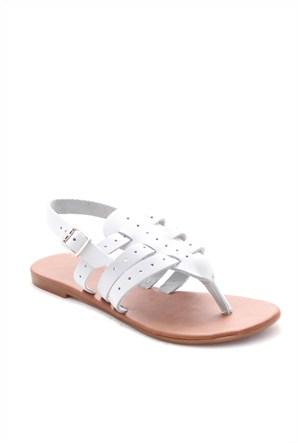 Gio&Mi Beyaz Sandalet V18