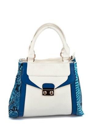 Gio&Mi Exclusive Kadın Çanta Beyaz Mavi