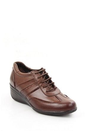Gön Vizona Bakır Deri Kadın Ayakkabı 22370