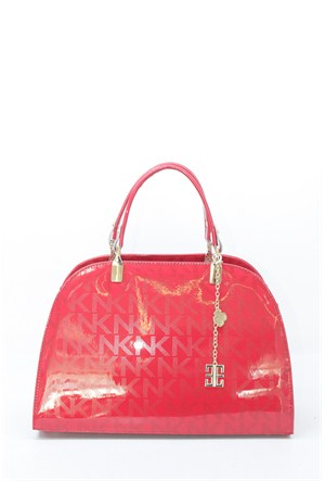 Angelo Rossi Kadın Çanta Kırmızı Baskılı