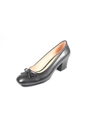 Capriss St11-11-469 Siyah Topuklu Ayakkabı