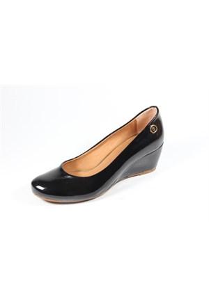 Ella 255-502 Siyah Kadın Topuklu Ayakkabı