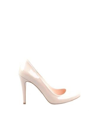 Cabani Rugan Hakiki Deri Kadın Ayakkabı Bej Rugan