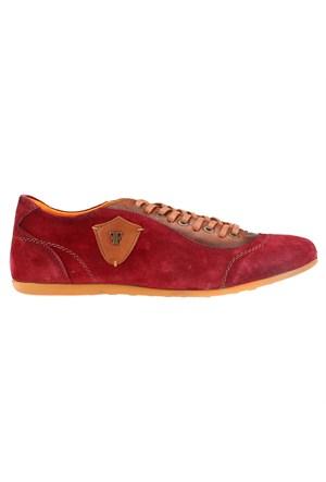 Salvano Bordo Taba Erkek Ayakkabı