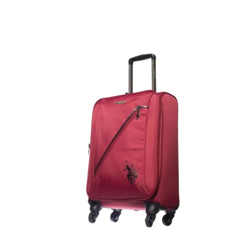 U.S.Polo Assn Kumaş Kabin Boy Valiz Mc5029 Kırmızı S(55*36*21)
