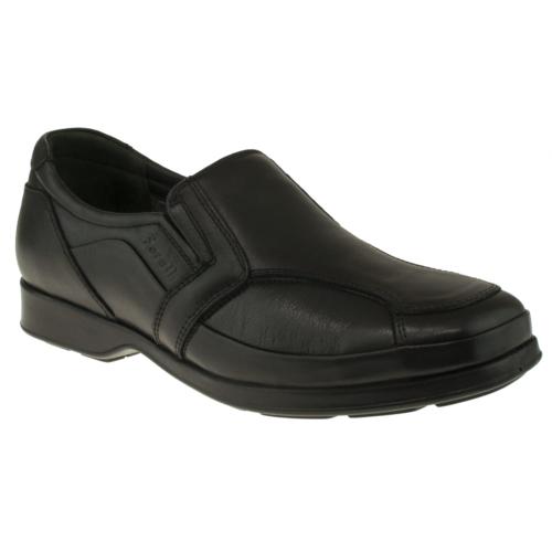 Forelli 36003 Atom Ortopedik Siyah Erkek Ayakkabı