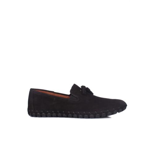 Erkan Kaban 350101 045 025 Erkek Siyah Havlu Nubuk Yazlık Ayakkabı