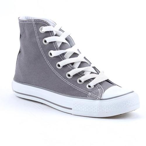 Mp 7105 Uzun Boğazlı Günlük Convers Kanvas Kadın Spor Ayakkabı