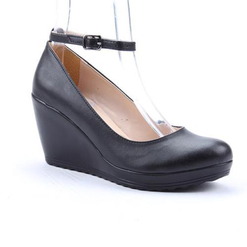 Jevel 2801 Günlük 7,5Cm Topuklu Kadın Ayakkabı